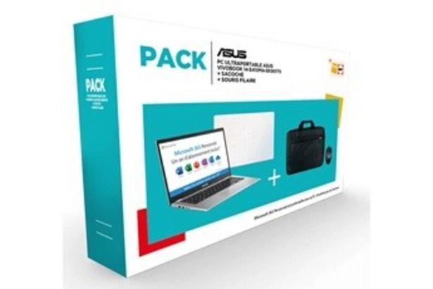 PC portable E410MA-EK901TS Asus offre à 299,99€
