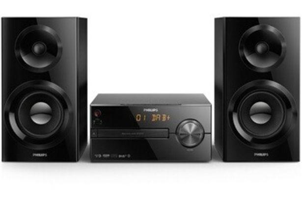 Chaine HiFi BTB2570 NOIR BT DAB Philips offre à 169,99€