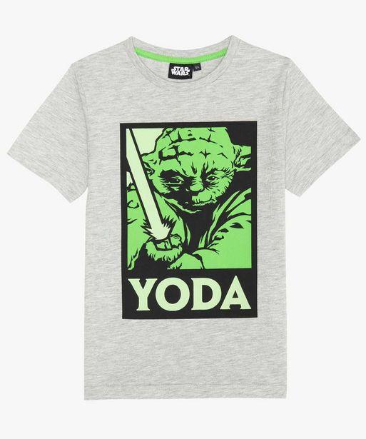 Tee-shirt garçon avec motif phosphorescent – Star Wars offre à 6,49€