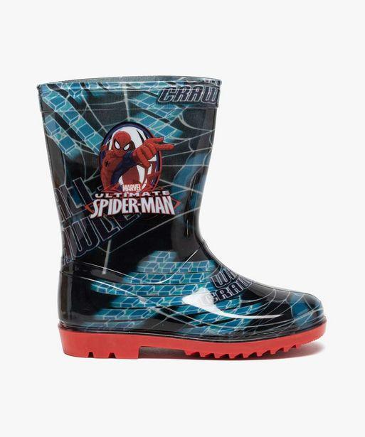 Bottes de pluie garçon - Spiderman offre à 14,99€