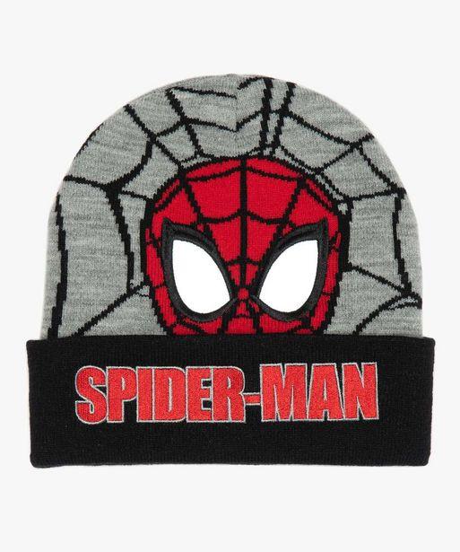 Bonnet garçon avec motif Spiderman offre à 3,99€