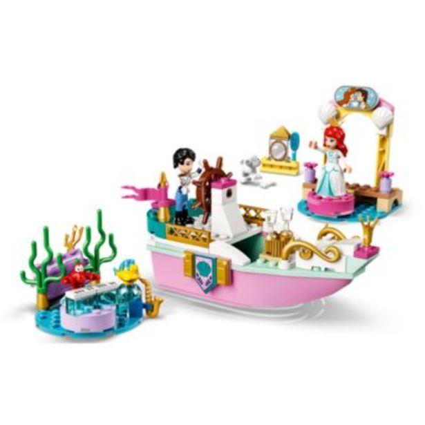 LEGO Disney43191Le bateau de mariage d'Ariel offre à 30€