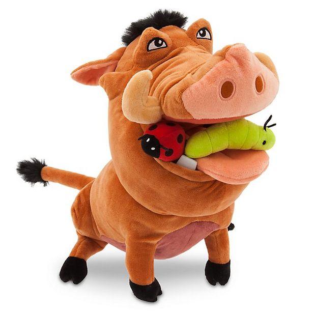 Peluche de taille moyenne Pumbaa, Le Roi Lion offre à 17€