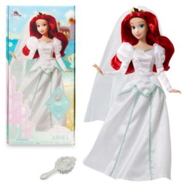 Disney Store Poupée Mariage d'Ariel, La Petite Sirène offre à 17,9€