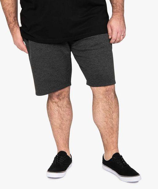 Bermuda homme en maille extensible et taille élastiquée offre à 17,99€