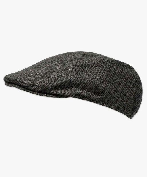 Casquette homme style Gavroche façon tweed offre à 9,99€