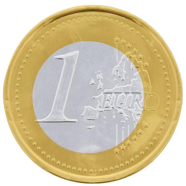 Euros chocolat au lait offre à 0,99€