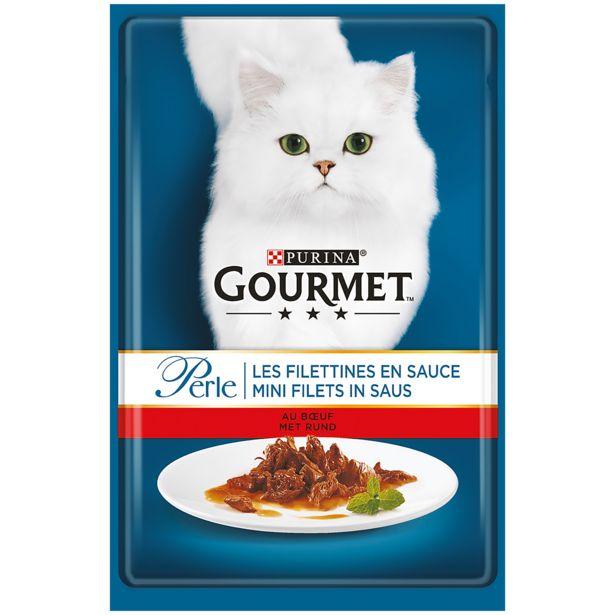 Nourriture pour chats Perle Gourmet  offre à 0,62€