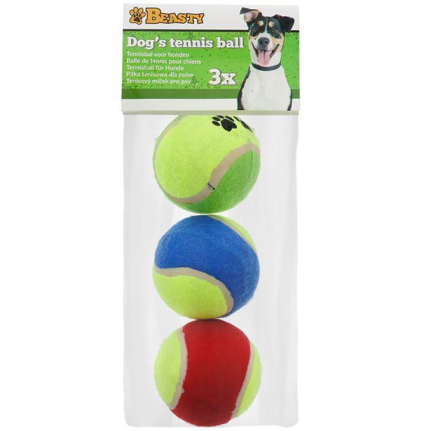 Balles de tennis pour chiens Beasty offre à 1,09€