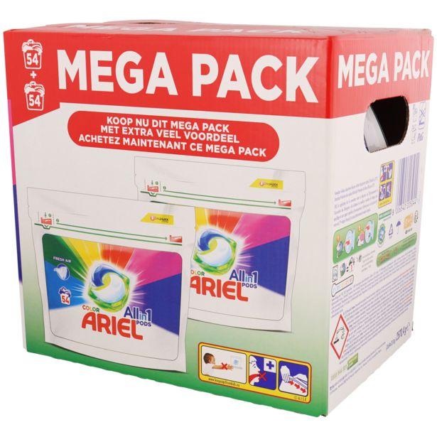 Dosettes All-in-1 Ariel Color offre à 25,97€