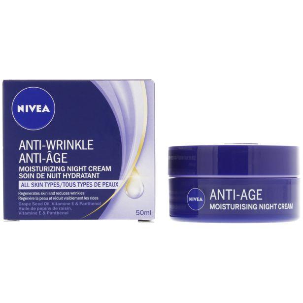 Crème de nuit Daily Essentials Nivea Anti-âge offre à 5,99€