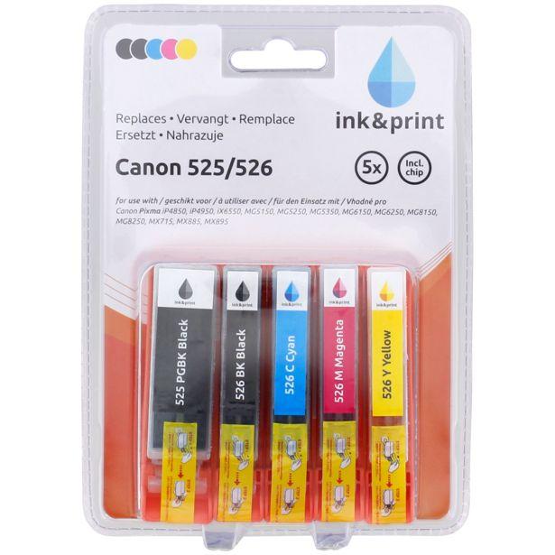 Cartouches d'encre Canon offre à 9,99€