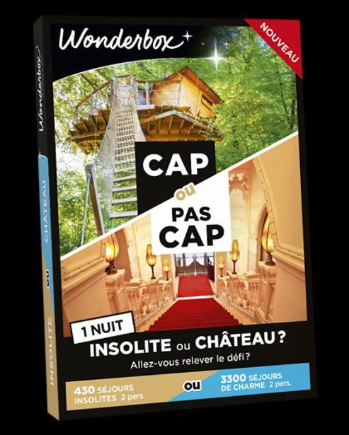 CAP OU PAS CAP - Insolite ou château ? - 1 nuit offre à 69,9€