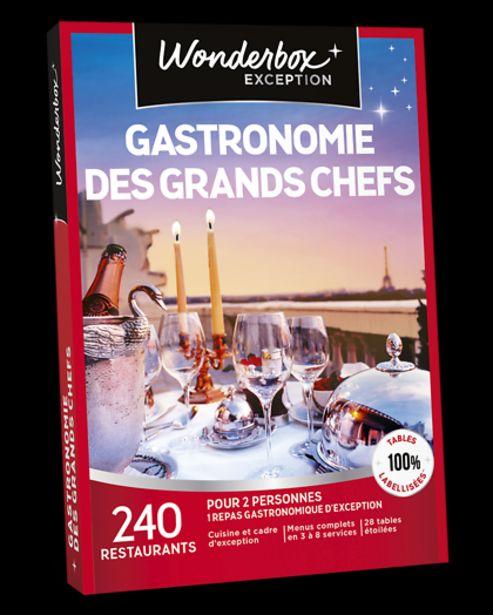 Gastronomie des grands Chefs offre à 149,9€