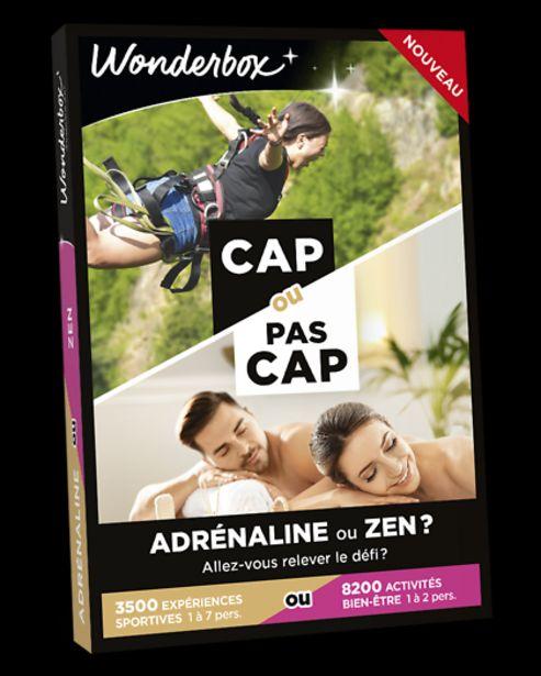 CAP OU PAS CAP - Adrénaline ou Zen ? offre à 49,9€