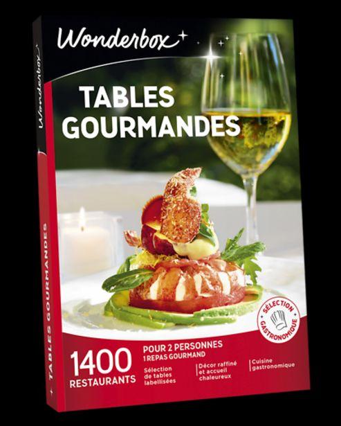 Tables gourmandes offre à 59,9€