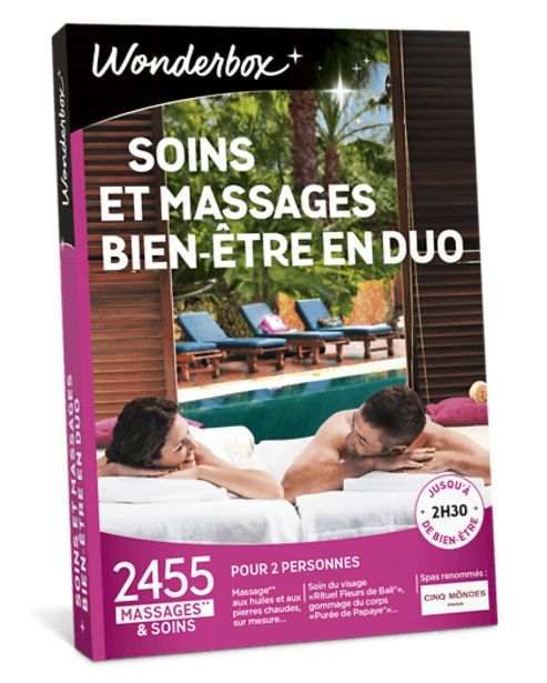 Soins et Massages Bien-Être en duo offre à 89,9€