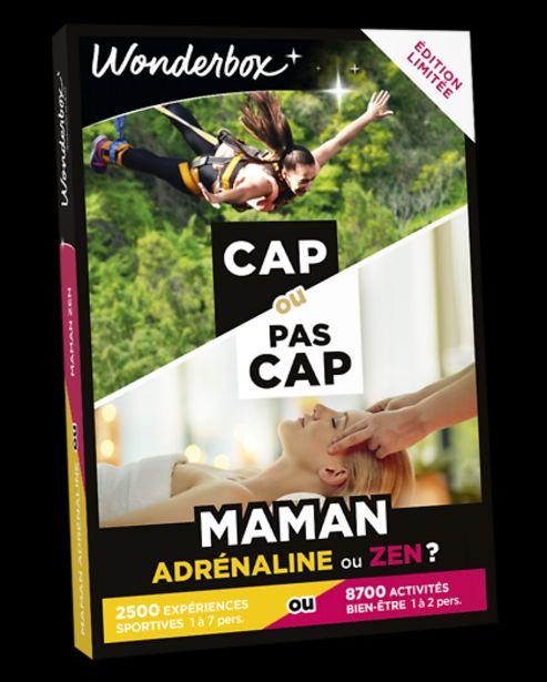 CAP OU PAS CAP - Maman adrénaline ou zen ? offre à 49,9€