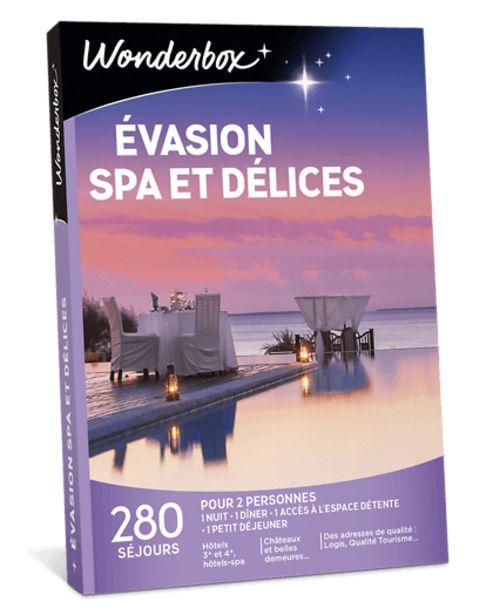 Évasion spa et délices offre à 159,9€