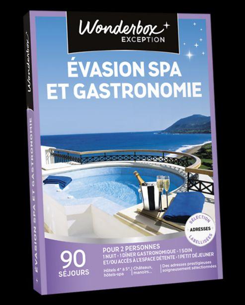 Évasion spa et gastronomie offre à 349,9€