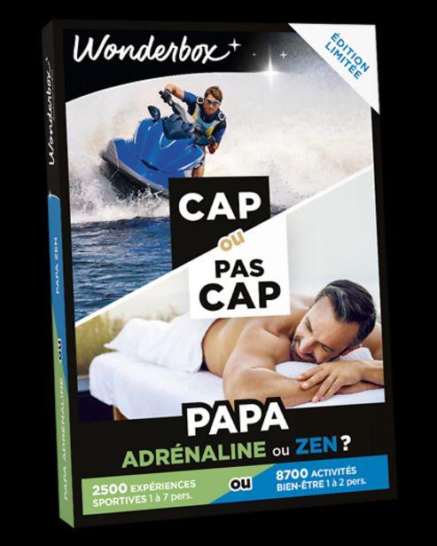 CAP OU PAS CAP - Papa adrénaline ou zen ? offre à 49,9€