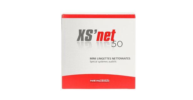 Mini lingettes nettoyantes x50  XS Net offre à 8,5€