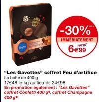 Les Gavottes coffret Feu d`artifice offre à 6,99€