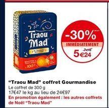 Traou Mad Coffret Gourmandise offre à 5,24€