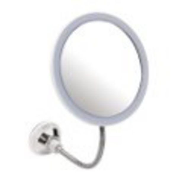 Miroir LED à ventouse offre à 7,99€