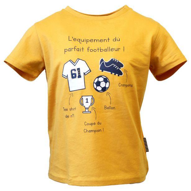 TEE-SHIRT AVEC ANIMATION 3/6 ANS - LA FABRIQUE DES GARCONS offre à 2,99€
