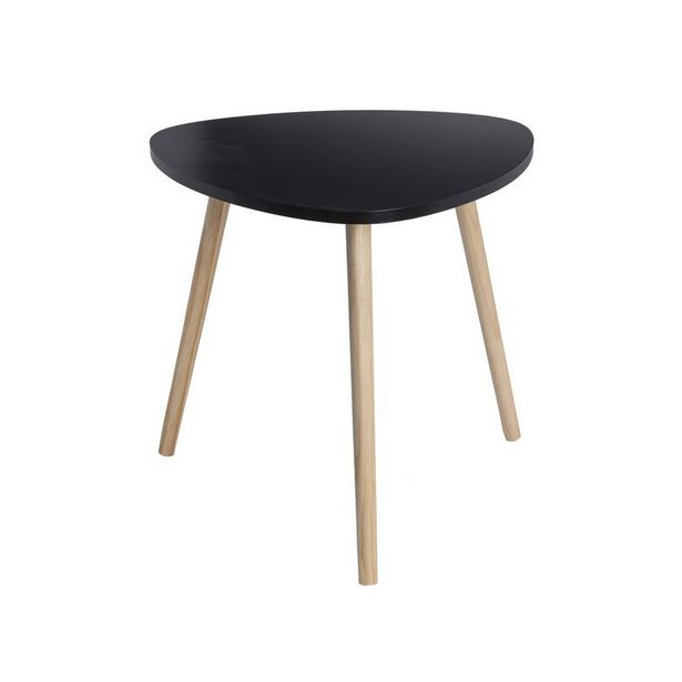 TABLE TRIANGULAIRE 47.5x47.5x45 cm- DECLIC HOME offre à 11,99€