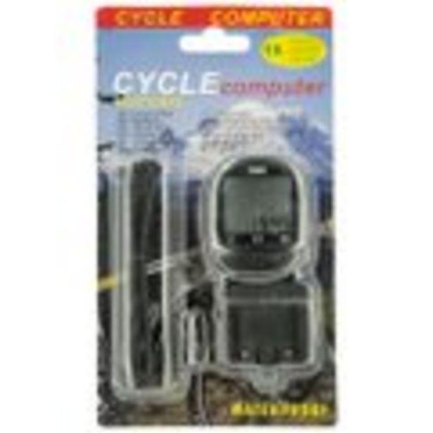 Compteur pour vélo + câble offre à 4,99€