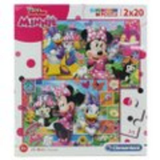 Puzzle Minnie 2x20 pièces offre à 4,99€