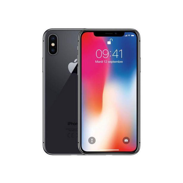 IPHONE X RECONDITIONNÉ 64 GO GRIS - APPLE offre à 349,99€