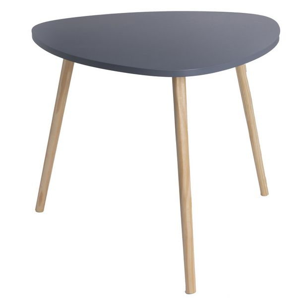 TABLE TRIANGULAIRE 39.5x39.5x39.5 CM - DECLIC HOME offre à 9,99€