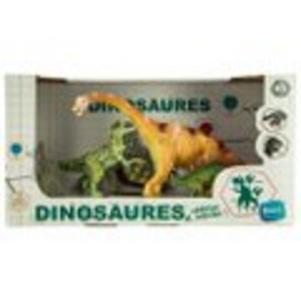 Set de 3 dinosaures offre à 7,99€