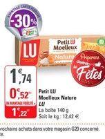 Petit Lu Moelleux nature Lu offre à 1,22€