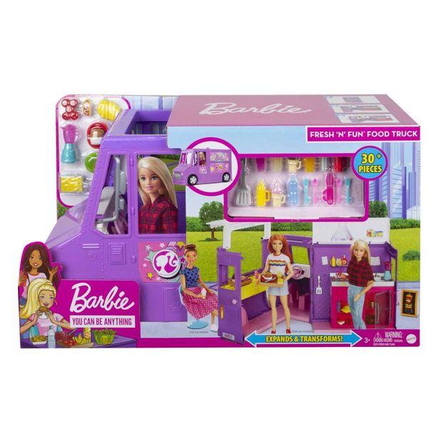 Barbie - Le food truck de Barbie offre à 57,98€
