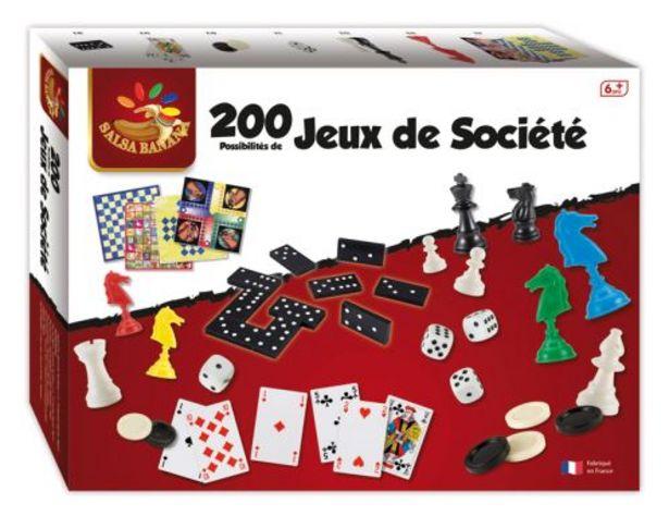 Coffret 200 jeux offre à 14,98€