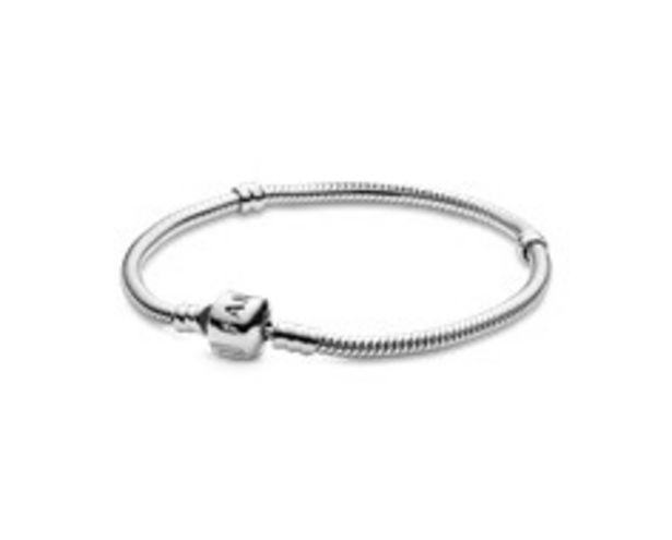 Bracelet Maille Serpent Pandora Moments offre à 59€