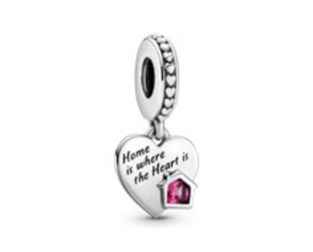 Charm Pendant Cœur Ma Maison Adorée offre à 35€
