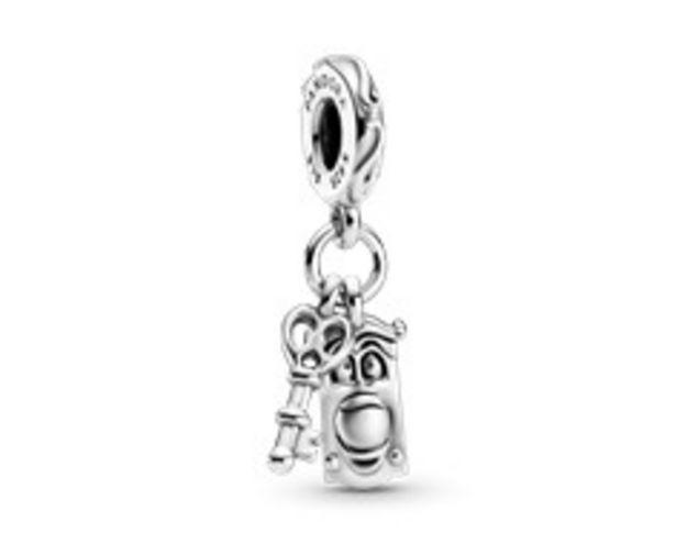Charm Pendant Disney Alice au Pays des Merveilles Clé & Poignée de Porte offre à 55€