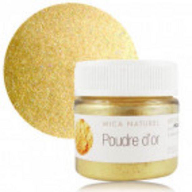 Mica poudre d'or offre à 1,6€