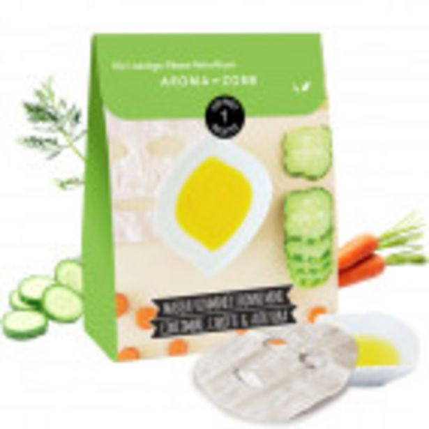 Masque bonne mine Concombre, Carotte & Aloe vera offre à 7,9€