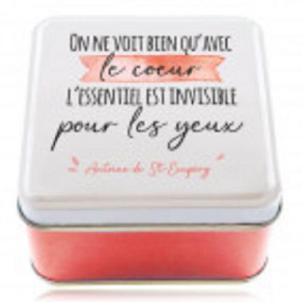 Boîte en métal AVEC LE CŒUR offre à 3,5€