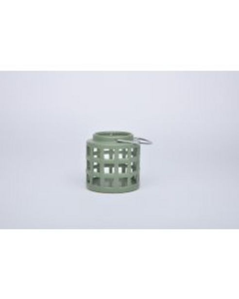 Lanterne céramique vert fonce offre à 8€