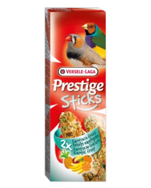 Prestige Sticks Pinsons Fruits Exotiques 2x30 g offre à 2,2€