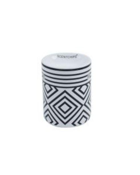 Brule parfum Scentchips noir et blanc design 1 offre à 7,95€