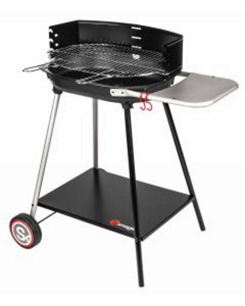Somagic - Barbecue à charbon de bois Myconos avec cuve en fonte offre à 69,95€