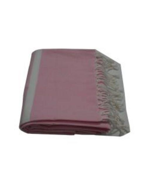 Fouta rose - L.100 x l.200 cm offre à 15€